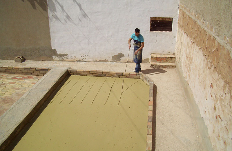 Preparación Del Barro Local. J.A. Boix