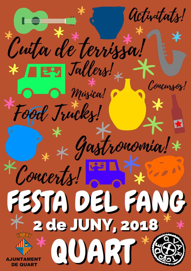 Quart (Girona) – Sábado 2 De Junio FESTA DEL FANG (Fiesta Del Barro)