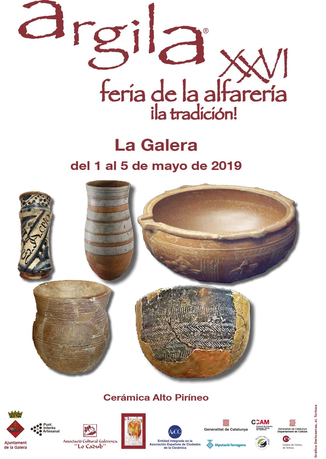 La Galera (Tarragona) – 1 Al 5 De Mayo: 26 Feria De Alfarería Y Cerámica