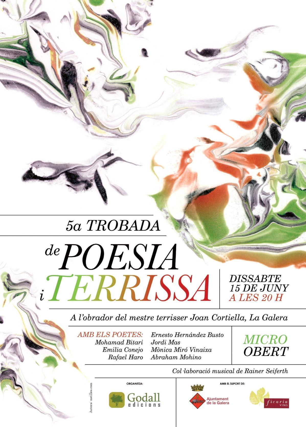 La Galera – 15 De Junio: V Encuentro De Poesía Y Alfarería