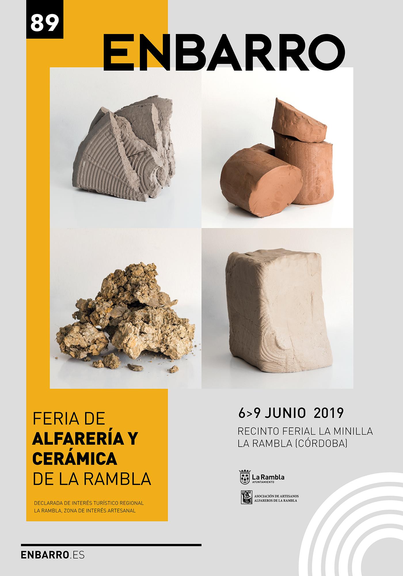 La Rambla (Córdoba) – 6 Al 9 De Junio: ENBARRO 2019 Feria De Alfarería Y Cerámica