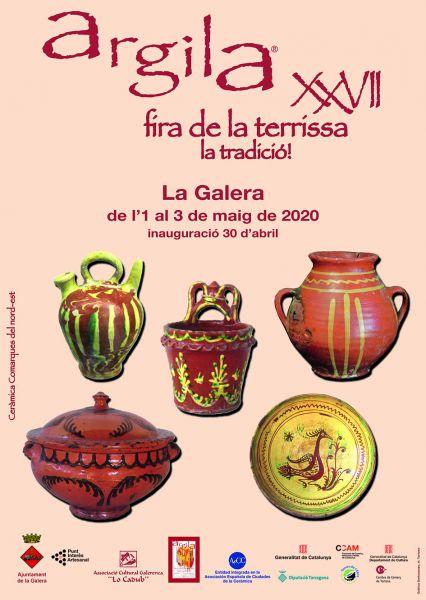 La Galera: Abierta la inscripción de la Feria de Alfarería y Cerámica 2020