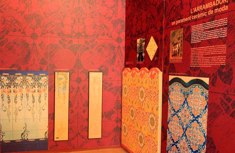 """Exposición Permanente De """"La Rajoleta"""". Foto Isabel Vilaseca."""