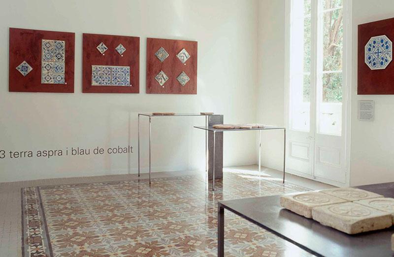 Interior Del Museo Can Tinturé . Foto Carme Masia