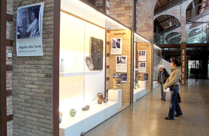 """Exposición Permanente """"Angelina Alós Tormo, Mestra De Ceramistes"""" En El Espai Baronda. Foto Lluís Tarrés"""