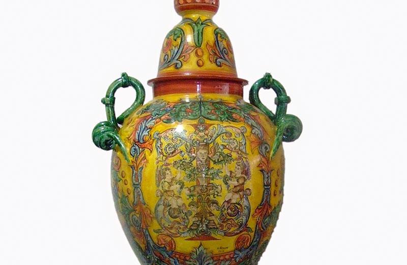 Gran Vaso, Obra De Alfonso Alcaide Zafra (2010)