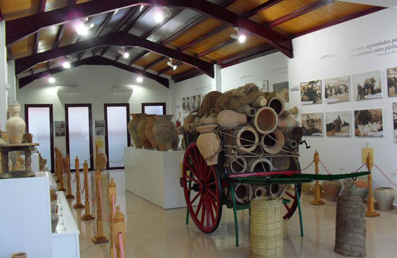 Sala Del Museo De Alfarería.