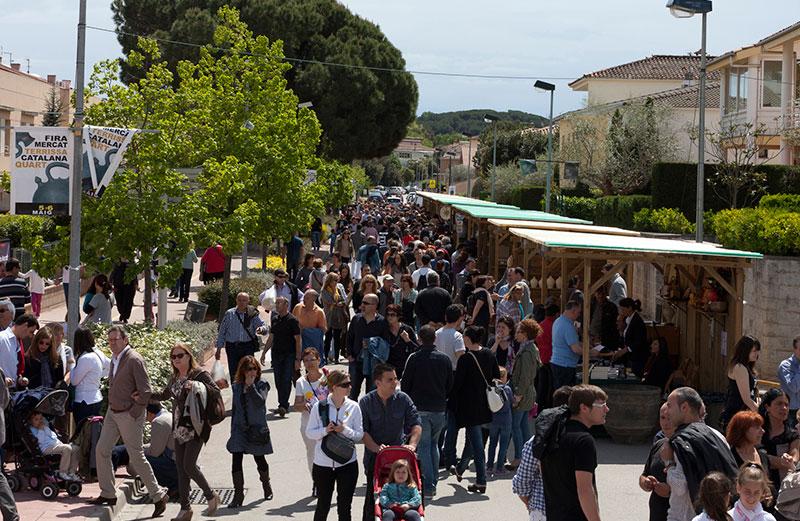 Fira Mercat De La Terrissa De Quart. Foto: Jordi S. Carrera.