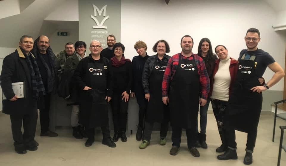 Celebrado un curso de formación del proyecto Cerasmus+ en Kecskemét (Hungría)