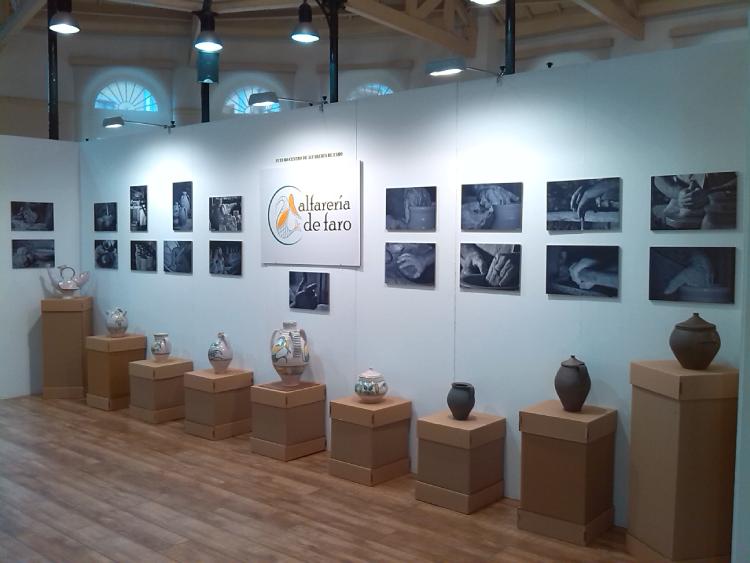 Exposición En La Feria De Cerámica Creativa De Oviedo.